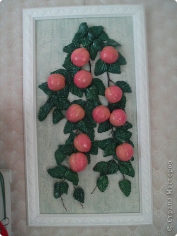 Персики с рамочкой фото 3
