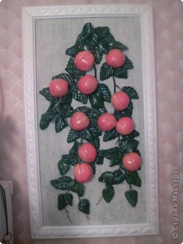 Персики с рамочкой фото 1