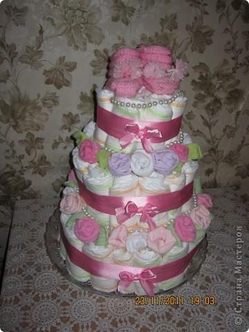 торт из памперос