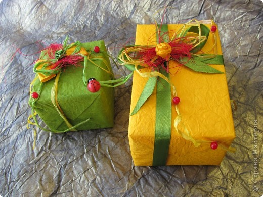 Весенняя упаковка подарка к празднику! фото 3