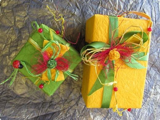 Весенняя упаковка подарка к празднику! фото 4