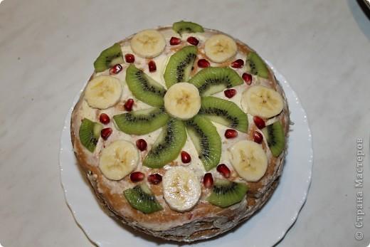 Вот такие тортики я сегодня сделала для своей мамочки! :) фото 1