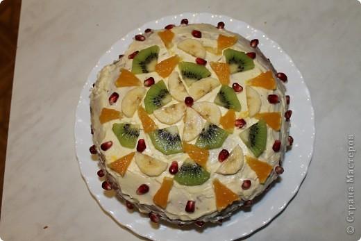 Вот такие тортики я сегодня сделала для своей мамочки! :) фото 2