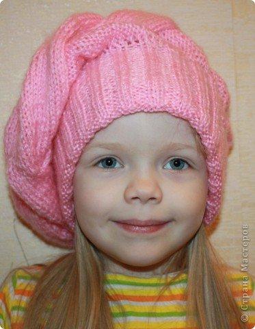 """Берет """"Розовая нежность"""" фото 1"""