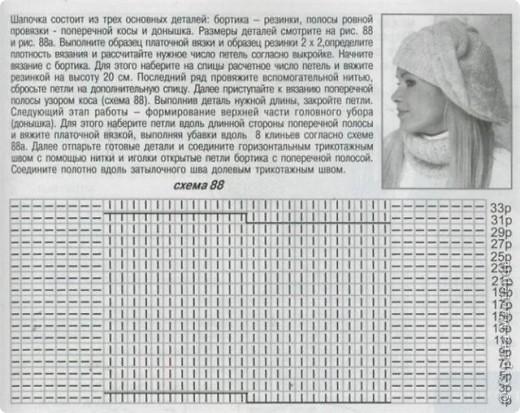 """Берет """"Розовая нежность"""" фото 4"""