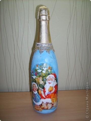 Новые новогодние бутылочки  фото 1