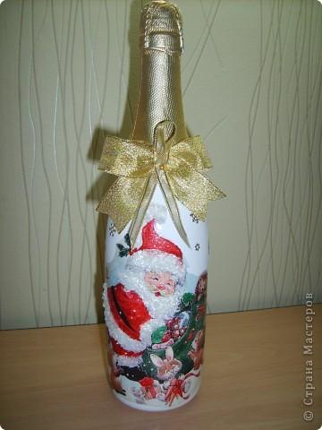 Новые новогодние бутылочки  фото 3