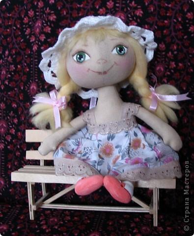 Малышка Иришка в пижамке.22 см. фото 2