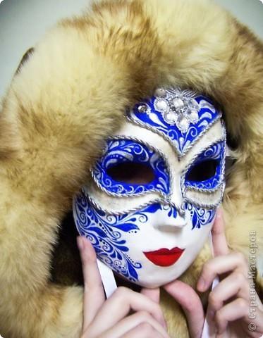 """маска """"Зимняя королева"""" Автора зовут Даша. фото 1"""