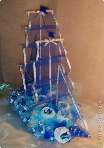 Кораблик на юбилей.  фото 1