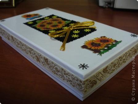 Вот такую коробочку с подарком внутри я подарила одной очень хорошей женщине на День рождения фото 3