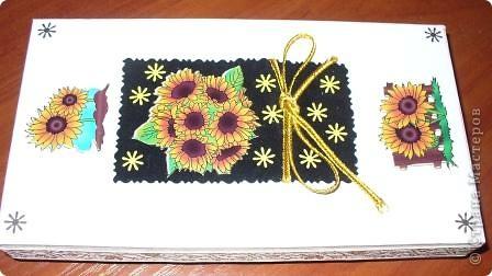 Вот такую коробочку с подарком внутри я подарила одной очень хорошей женщине на День рождения фото 1