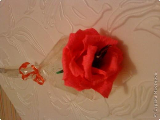 розочка с конфеткой внутри)) фото 2