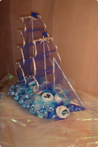 Кораблик на юбилей.  фото 2