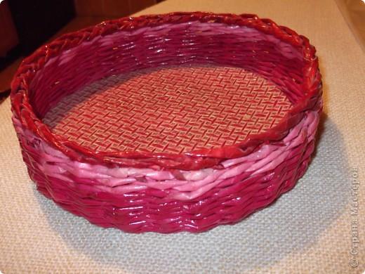 Плетенка -хлебница фото 2