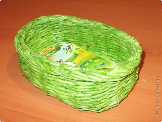 Плетенка -конфетница фото 1