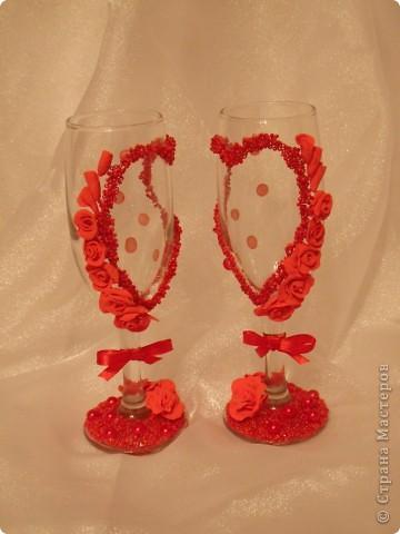 Мои свадебные бокалы. фото 1