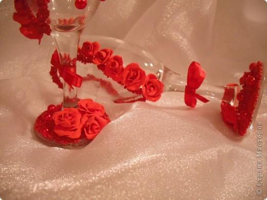 Мои свадебные бокалы. фото 2