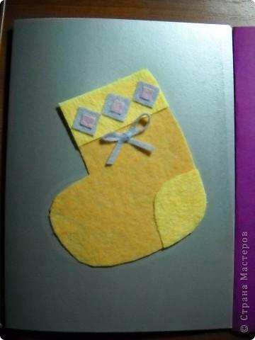 На кружке с моими второклассниками мы создали эти открытки к Рождеству, используя мягкие салфетки. фото 2