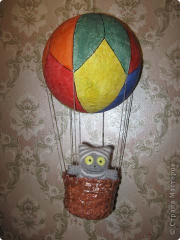 Как сделать воздушный шар с корзиной своими руками большой