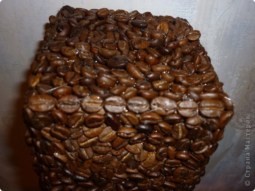 """Доброго времени суток! Благодаря работе """"Геометрия любви"""" мастерицы Зимняя вишня -  и я добралась до работы с кофейными зернами, за что всем огромное спасибо! фото 2"""