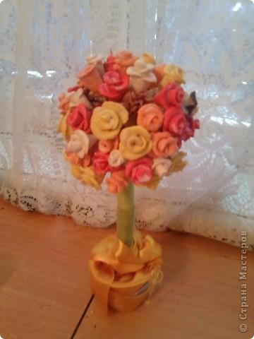 мое розочкое соленое деревце))) фото 3