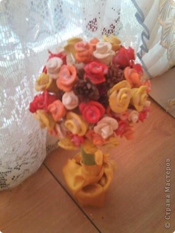 мое розочкое соленое деревце))) фото 2