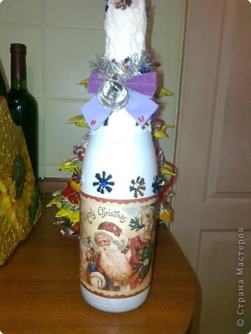 Новогодняя бутылочка! фото 1