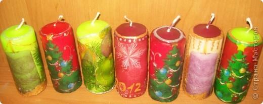 Эти свечи вы наверно уже видели, если заглядывали ко мне фото 1