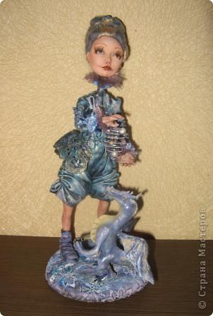 Сиволическая кукла на Новый год с дракончиком фото 1