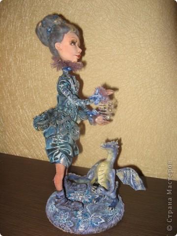 Сиволическая кукла на Новый год с дракончиком фото 5