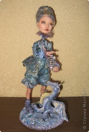 Сиволическая кукла на Новый год с дракончиком фото 4