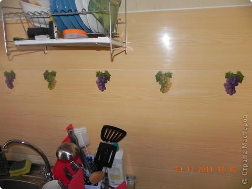 виноградик на кухне фото 1