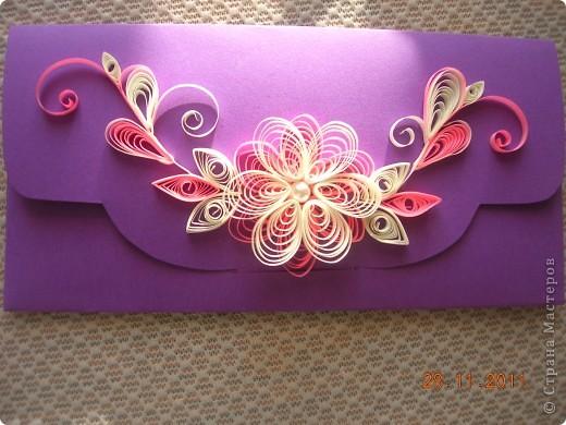 Здравствуйте, дорогие мастерицы-рукодельницы! Это мои первые работы.  В ноябре месяце в нашей семье много дней рождений и я решила сделать к подаркам  открытки ручной работы. Это самая первая открытка была подарена моей племяннице Анюте на двенадцатилетие. фото 6