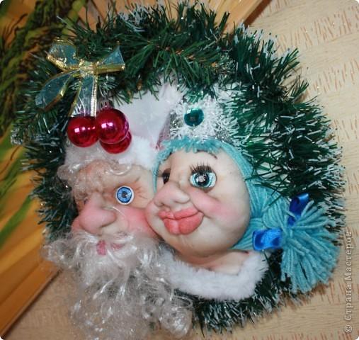 Новогоднее пано фото 1