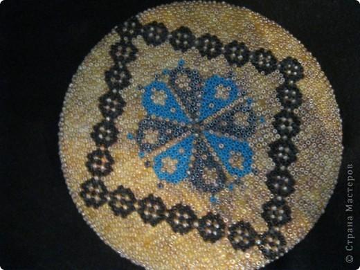 Вот такую шкатулочку из бисера я сделала для мамы в честь дня Матери. Ушло на нее примерно 2 недели фото 3