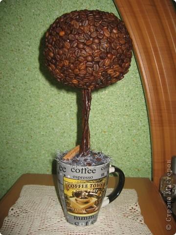 Это деревце я сделала для подруги. фото 1