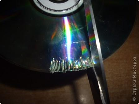 Здравствуйте! Я хочу показать вам, как я делаю сову из ненужных компакт-дисков. Начнём... фото 4