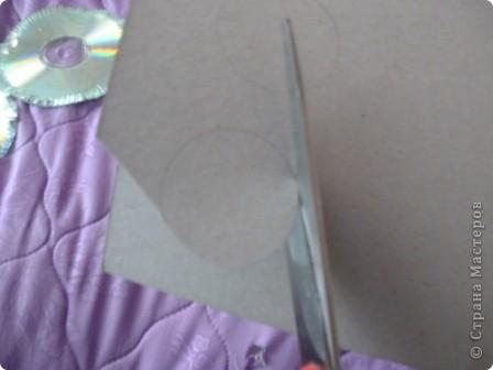Здравствуйте! Я хочу показать вам, как я делаю сову из ненужных компакт-дисков. Начнём... фото 11