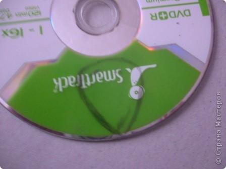 Здравствуйте! Я хочу показать вам, как я делаю сову из ненужных компакт-дисков. Начнём... фото 14