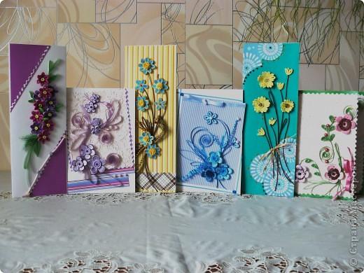 Привет Всем из Одессы! Хорошего Вам настроения! И опять я со своими открытками, смотрите и пишите.  Длинные открытки - сегодняшние, короткие - давно были сделаны. Галина. фото 1