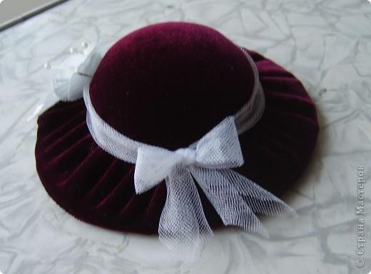 Игольница шляпа мастер класс