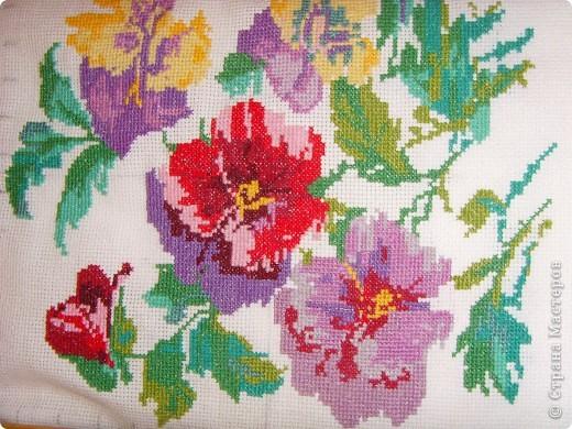 Я люблю цветы) и решила сделать такую вышивку