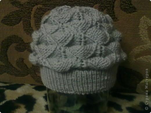 шапка для себя...любимой фото 2