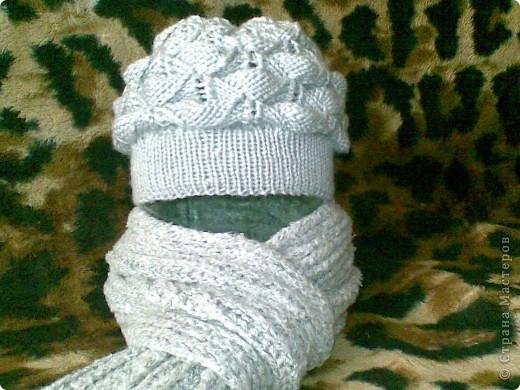 шапка для себя...любимой фото 1