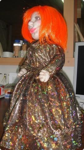 Вот еще одна кукла на чайник, знакомтесь Анжелика. Жду Ваши комментарии. фото 3