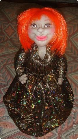 Вот еще одна кукла на чайник, знакомтесь Анжелика. Жду Ваши комментарии. фото 1
