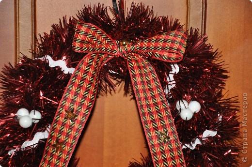 Рождественский венок!!! фото 4
