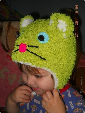 шапочки для дочки фото 1