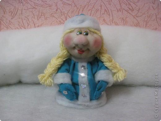Снегурка для Полечки)
